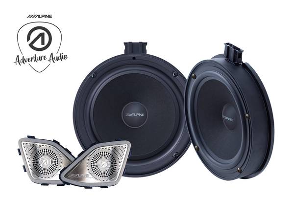 Bilde av Alpine SPC-106T61 Component Speaker System for VW T6.1